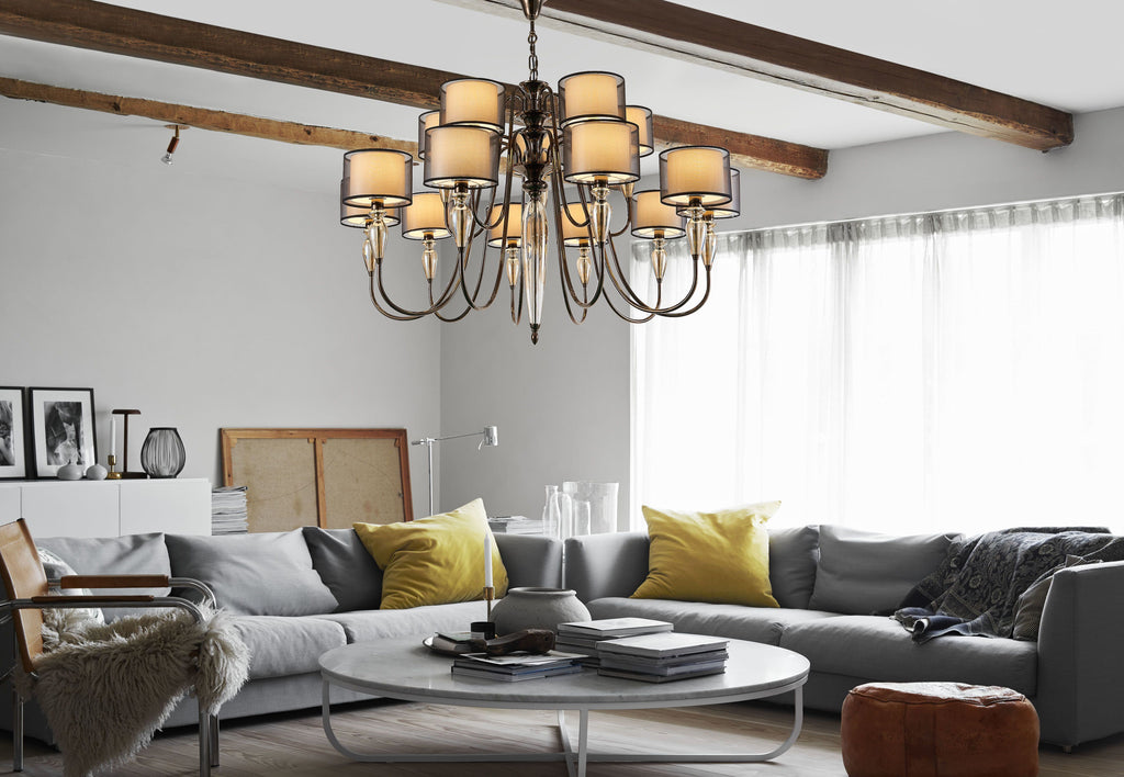 Triviano Statement Chandelier - Living Room Chandelier | Buy Statement Chandeliers Online India