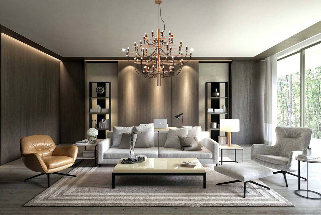 Candelic Statement Chandelier - Living Room Chandelier | Buy Statement Chandeliers Online India