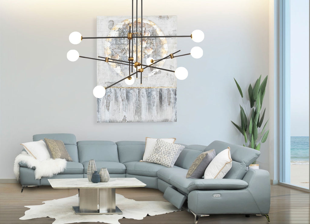 Adelaide Mid-Century Chandelier - Living Room Chandelier | Buy Statement Chandeliers Online India