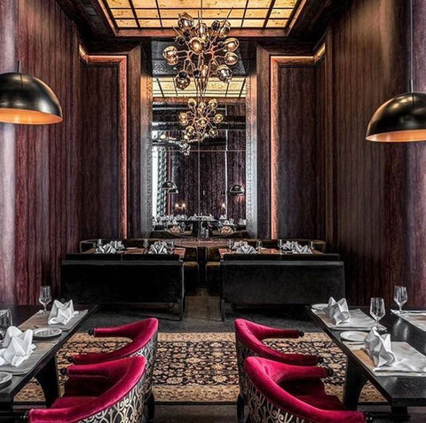 Restaurant Lighting - Hemant Oberoi Restaurant| Ashiesh Shah