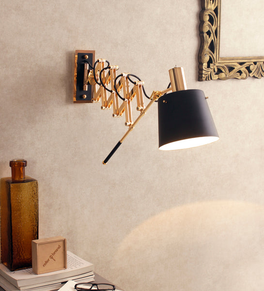 Scissor Arm Wall Light | Swing Arm Wall Light | Buy Wall Lights Online India