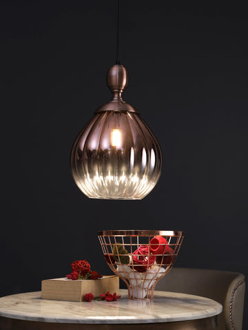 Cavello Copper | Buy LED Hanging Lights Online in India | Jainsons Emporio Lights
