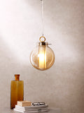 Everly Large Glass Pendant Lamp | Buy Luxury Hanging Lights Online India