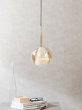 Fire Small Glass Pendant Lamp | Buy Luxury Hanging Lights Online India