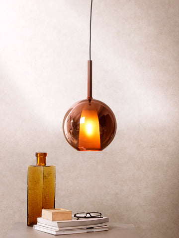 Fire Grande Pendant Lamp by Jainsons Emporio