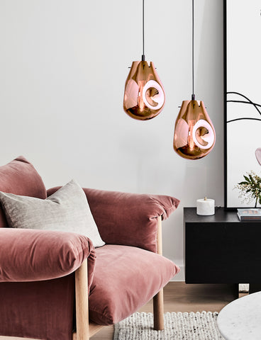 Soap Copper Modern Ceiling Light | Buy Modern Ceiling Lights Online India