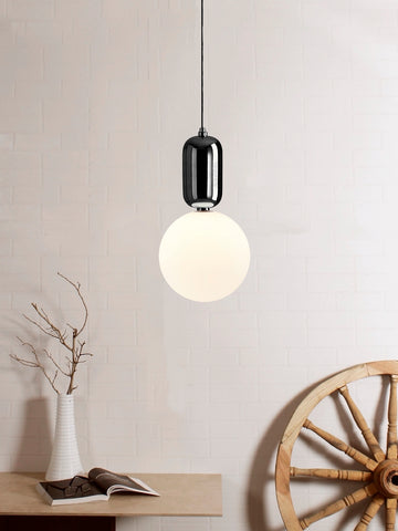 Aballs White Black LED Pendant Lamp | Buy Luxury Hanging Lights Online India