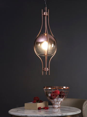 Hadley Copper | Buy LED Hanging Lights Online in India | Jainsons Emporio Lights