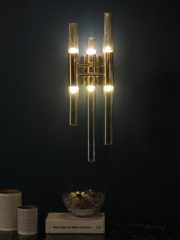 Trident Gold Wall Light | Buy Luxury Wall Lights Online India