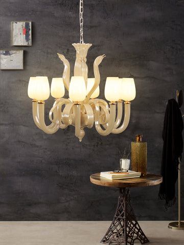 Clyde Modern Crystal Chandelier | Buy Decorative Chandeliers Online India