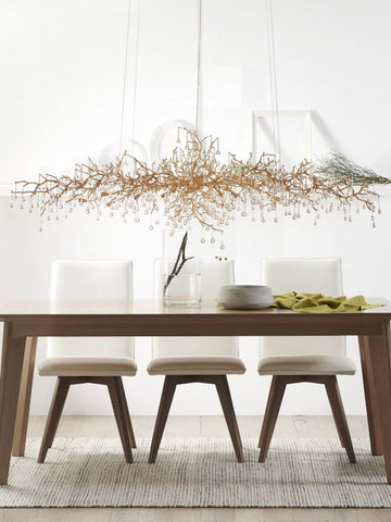 Autumn Gold Crystal Chandelier | Buy Crystal Chandeliers Online India