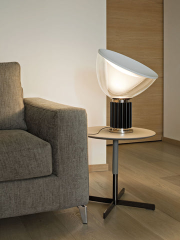 Taccia White Gold Table Lamp | Buy Modern Table Lamps Online India