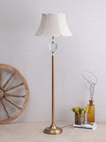 Blanca Crystal Gold Floor Lamp | Buy Traditional Floor Lamps Online India