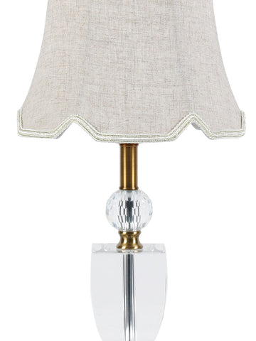 Blanca Crystal Table Lamp Buy Crystal Table Lamps Online India Jainsons Emporio