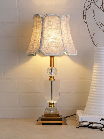 Blanca Crystal Table Lamp | Buy Crystal Table Lamps Online India