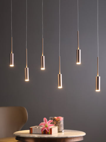 Acadia 6-Lamp | Buy LED Chandeliers Online in India | Jainsons Emporio Lights