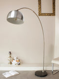 Silver Arc Modern Floor Lamp | Buy Luxury Floor Lamps Online India