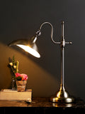 Ander Silver Desk Lamp | Buy Modern Desk Lamps Online India