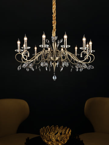 Easton | Buy LED Chandeliers Online in India | Jainsons Emporio Lights