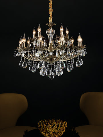 Claremont | Buy LED Chandeliers Online in India | Jainsons Emporio Lights