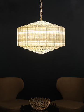 Casca Crystal Rod Chandelier | Buy Crystal Chandeliers Online India