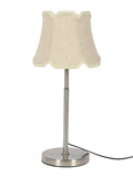 David White Silver Table Lamp | Buy Modern Table Lamps Online India