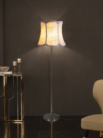 David White Gold Floor Lamp | Buy Luxury Floor Lamps Online India