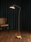 Olaf Gold Arc Floor Lamp| Buy Modern Floor Lamps Online India