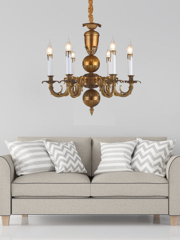 Arabel Bronze Chandelier | Buy Decorative Chandeliers Online India