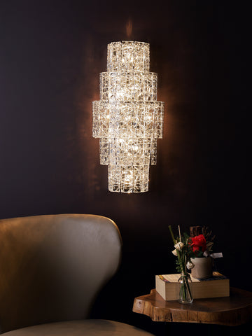 Calista | Buy Crystal Wall Lights Online in India | Jainsons Emporio Lights