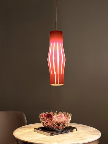 Odeon Red Pendant Lamp | Buy Luxury Hanging Lights Online India