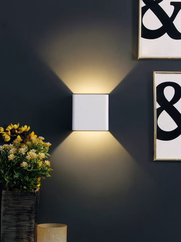 Elford LED Contemporary Wall Lamp| Buy LED Wall Lights Online India