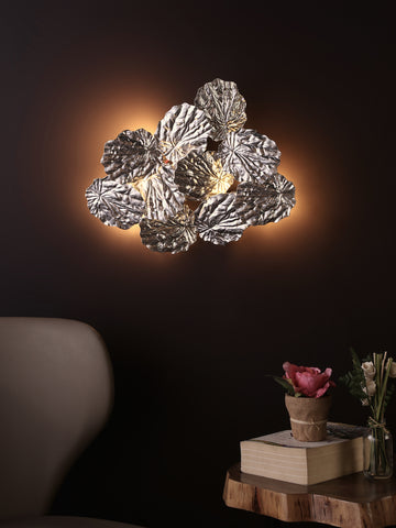Leaves Silver | Buy Wall Lights Online in India | Jainsons Emporio Lights