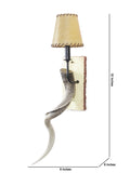 Horn Contemporary Wall Lamp| Buy Luxury Wall Lights Online India