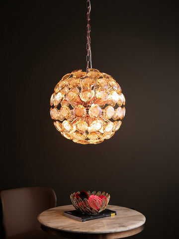 Arin Crystal Hanging Light | Buy Modern LED Ceiling Lights Online India