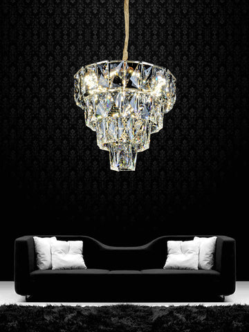 Judith Gold Crystal Chandelier | Buy Luxury Chandeliers Online India