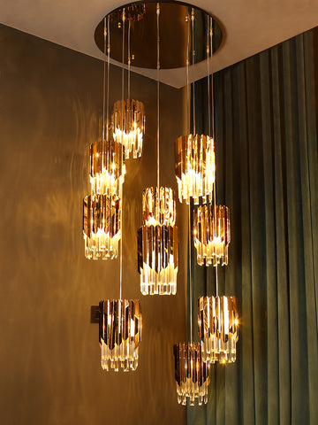 Corin 10-Lamp Buy Chandelier Online in India | Jainsons Emporio Lights