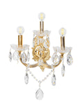 Adolf Gold Crystal Wall Light| Buy Crystal Wall Lights Online India