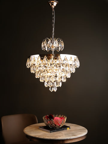 Alexis Crystal Hanging Light | Buy Modern LED Ceiling Lights Online India