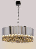 Aurdey Silver | Buy Crystal Chandeliers Online in India | Jainsons Emporio Lights