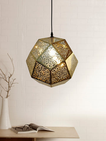 Etch Gold Pendant Lamp | Buy Luxury Hanging Lights Online India