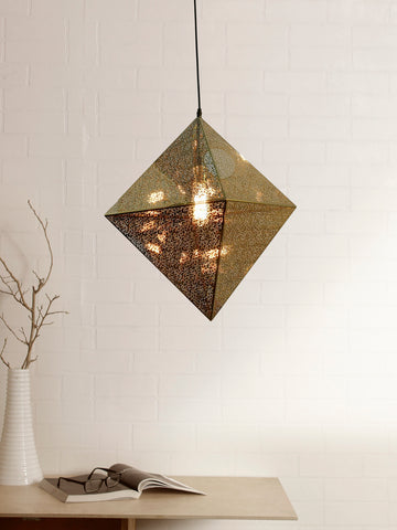 Ethel Gold Pendant Lamp | Buy Luxury Hanging Lights Online India