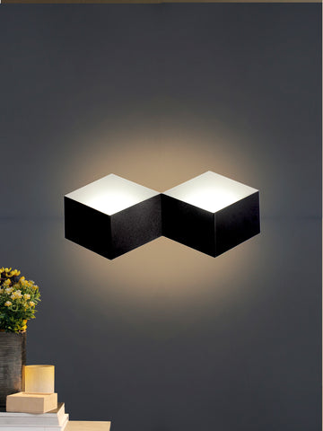 Cento Black Wall Light | Buy Modern LED Wall Lights Online India