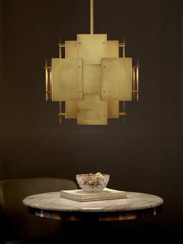 Planco Gold Hanging Light | Buy Modern Ceiling Lights Online India