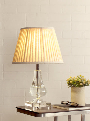 Darell Crystal Table Lamp | Buy Traditional Table Lamps Online India