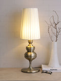 Josephine Antique Brass Table Lamp | Buy Luxury LED Table Lamps Online India