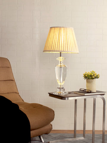 Diane Crystal Table Lamp | Buy Traditional Table Lamps Online India