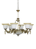 Fedrick Traditional Gold Chandelier | Buy Decorative Chandeliers Online India
