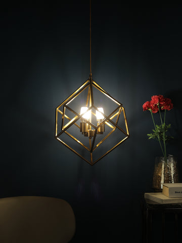 Hadley Industrial Cage Hanging Light | Buy Ceiling Lights Online India