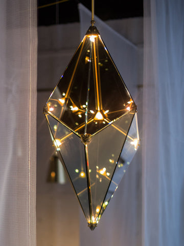 Hedron Luxury Pendant Lamp | Buy Fancy Hanging Lights Online India